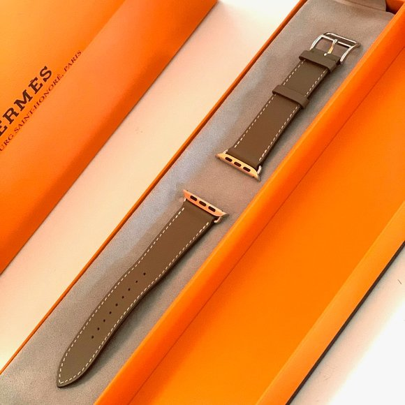 APPLE WATCH 44mm/42mm Hermes Leather Band